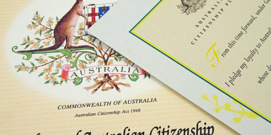 شرایط شهروندی استرالیا